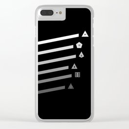 Streaking Dice Clear iPhone Case
