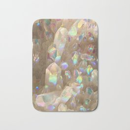 Unicorn Horn Aura Crystals Bath Mat