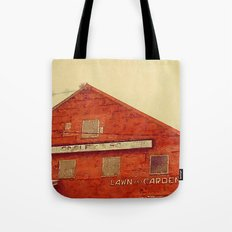 Lawn and Garden Shop, Norway, ME Tote Bag