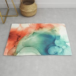Fire and Water Rug