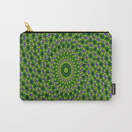 Green Mosaic Carry-All Pouch