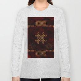 Celtic knote, vintage design Long Sleeve T-shirt