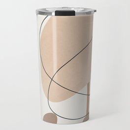 Abstract Line Movement III Travel Mug