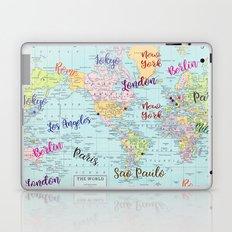 Fashion Capitals Laptop & iPad Skin