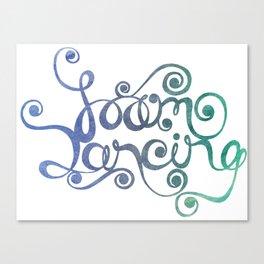 Foam Dancing Canvas Print