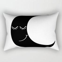 cute moon Rectangular Pillow