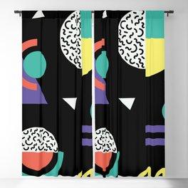 Memphis Pattern 38 / 80s - 90s Retro Blackout Curtain