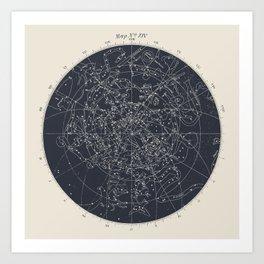 Map n XIV Art Print