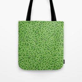 Little Green Snakes Tote Bag