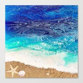 Starfish Sea Canvas Print