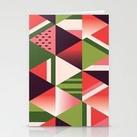 watermelon Stationery Cards featuring watermelon by Gray