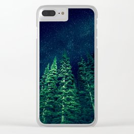 Star Signal - Nature Photography Clear iPhone Case