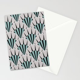 Deco Fans Rock Stationery Cards
