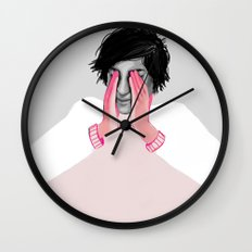 A Touch of Pink 02 Wall Clock
