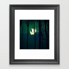 A Girls Dream Framed Art Print