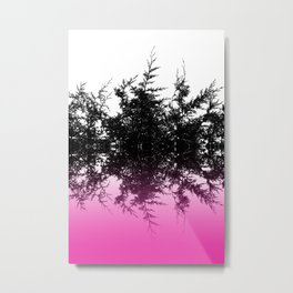 Conifer cerise Metal Print
