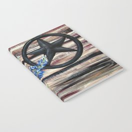 Blue Bonnets Notebook