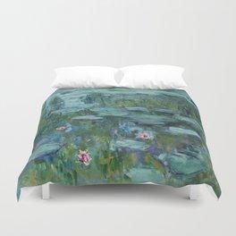 "Claude Monet ""Water Lilies"" (8)(1915) Duvet Cover"