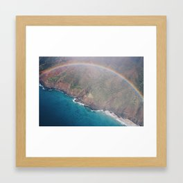 Hawaiian Rainbow Framed Art Print