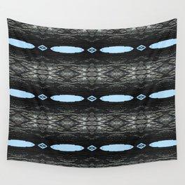 Oak Tree Blue Portal Nature Pattern by Debra Cortese Designs Wall Tapestry