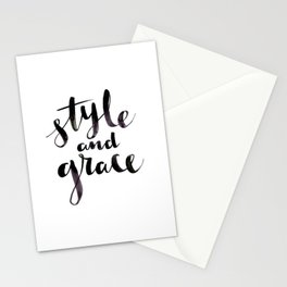Style and Grace Stationery Cards