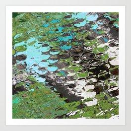 Moss Pond Art Print