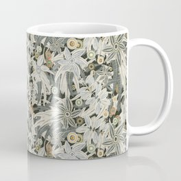 floral embroidery Coffee Mug