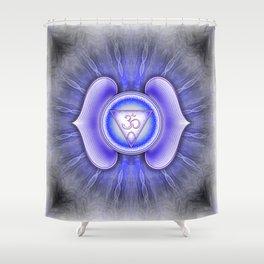 Ajna Chakra - Brow Chakra - Series IV Shower Curtain