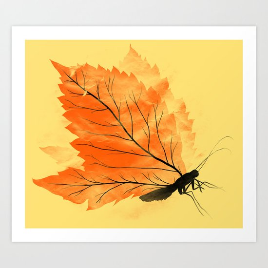 Seasons Change Art Print