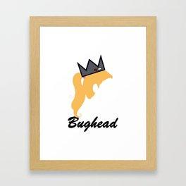 Bughead Framed Art Print