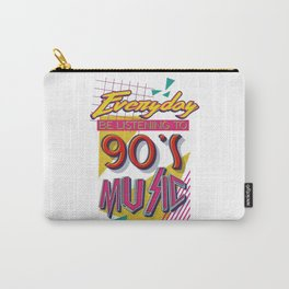 90's Music Carry-All Pouch