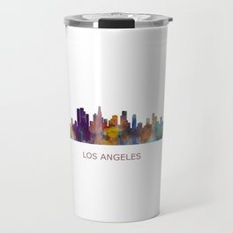Los Angeles City Skyline HQ v1 Travel Mug