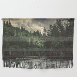 Pacific Northwest River - Nature Photography Wall Hanging
