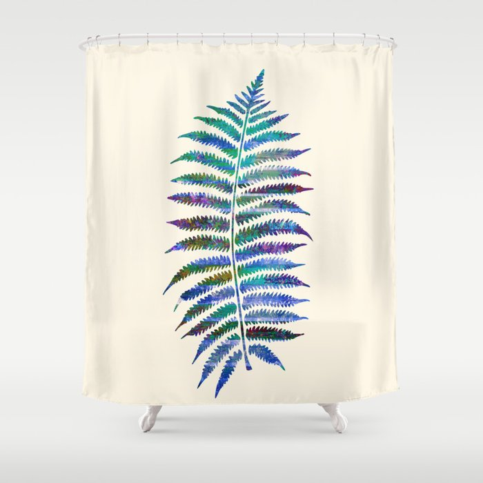 Peacock Fern Shower Curtain