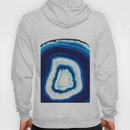 Blue Agate Geode Slice Hoody