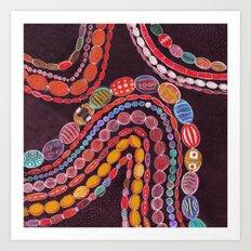 Beadwork Art Print