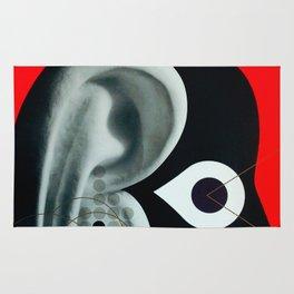 Barcelona Electronica Music Festival Poster Rug