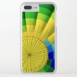 Ballon Burst Clear iPhone Case