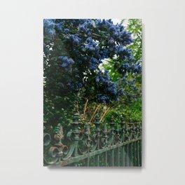 Paris Garden V Metal Print