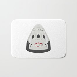 SpaceX Red Dragon Bath Mat
