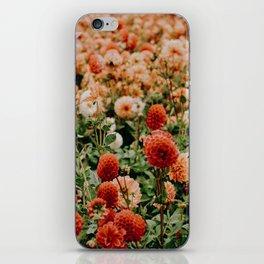 Vintage Flower Garden (Color) iPhone Skin