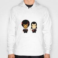 pulp fiction Hoodies featuring pulp fiction by sEndro