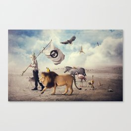 Road to Refuge Canvas Print