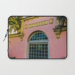 Train Station Tropicale Laptop Sleeve