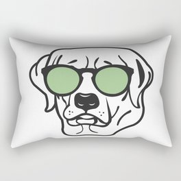 Cool Dog 2 Rectangular Pillow