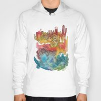 barcelona Hoodies featuring Barcelona by Geek World