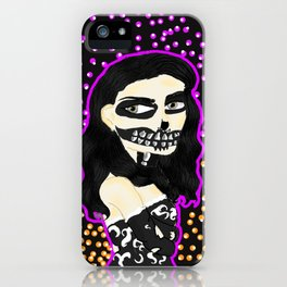 SkullRoyalty iPhone Case