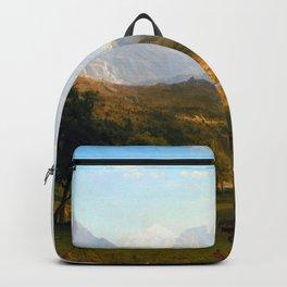 Albert Bierstadt Rocky Mountains at Lander's Peak Backpack
