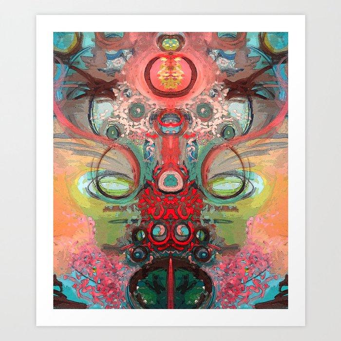 Hieime Art Print