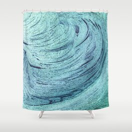 An insignificant maelstrom Shower Curtain